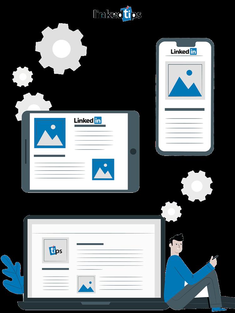 LinkedIn Firma Sayfası Mobil Görünümü